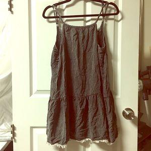Distressed dress